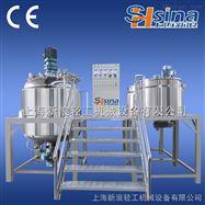 上海新浪普通型真空均质乳化机系列