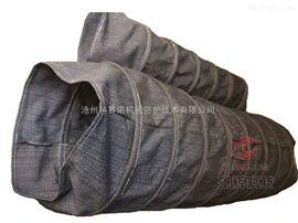 弹簧式汽车散装机伸缩布袋伸缩自如安装方便