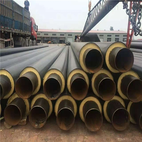 供暖塑套钢预制保温管,预制直埋保温钢管