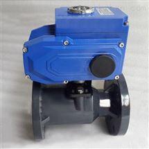 Q941F-10S 電動塑料球閥 PPR球閥 UPVC球閥