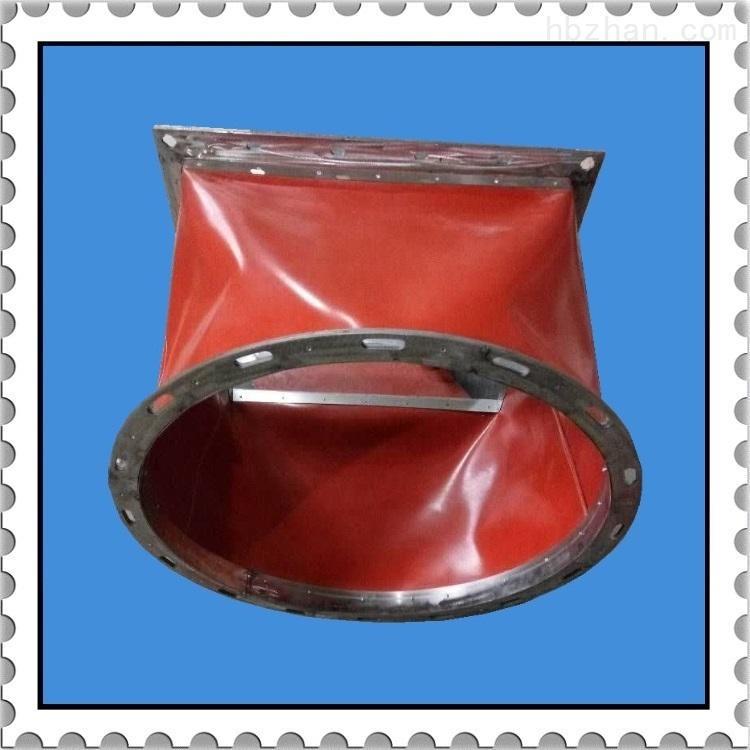 耐高温方形硅胶布通风软连接