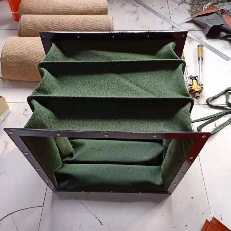 帆布水泥输送耐高温软连接