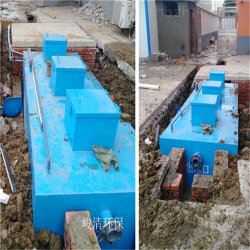 广东云浮一体化污水处理设备