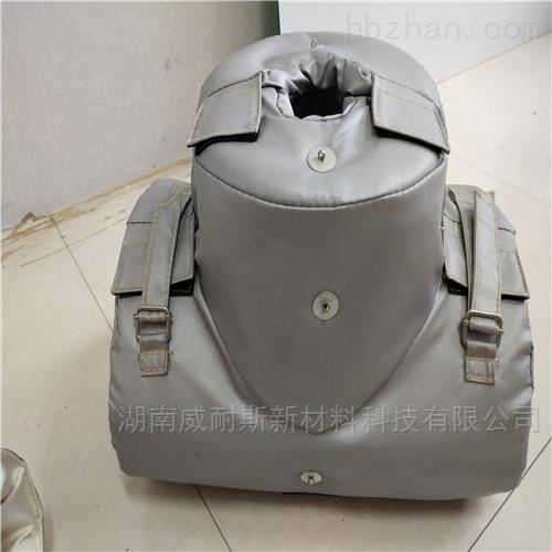 可拆卸蒸汽高温管道保温套定制