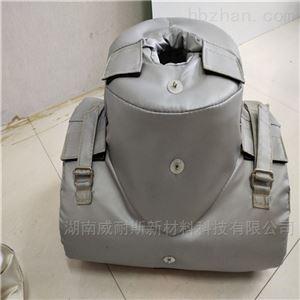 V452可拆卸蒸汽高温管道保温套定制
