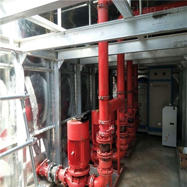 甘肃临夏地埋式箱泵一体化含消防水箱和泵房