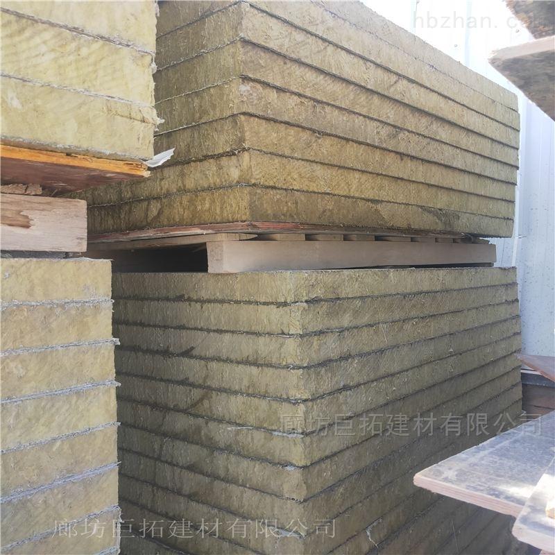 85kg钢网增强岩棉板