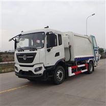 国六京牌压缩式垃圾车