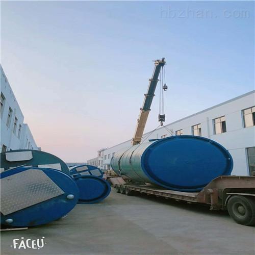 污水一体式泵站的特性和结构原理