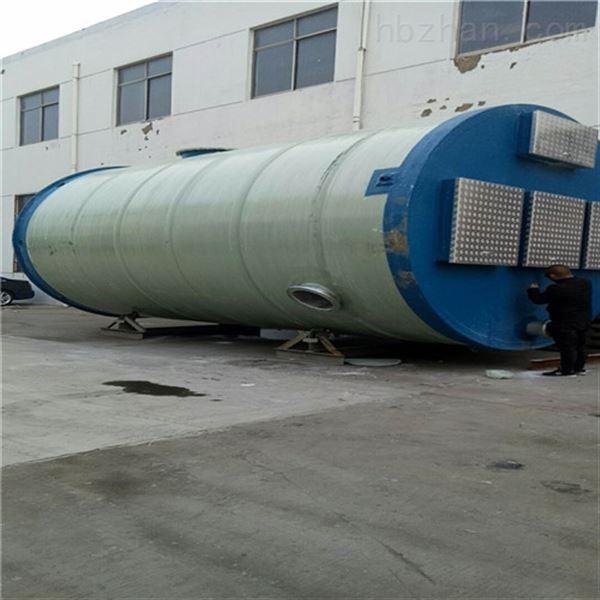 污水提升一体化泵站成为水利工程重要设备