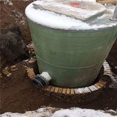 3000立方GRP玻璃钢预制式一体化泵站