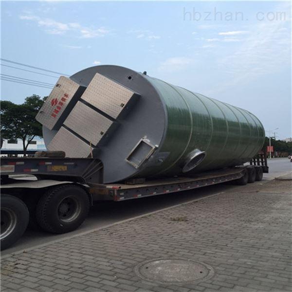 玻璃钢一体化提升泵站桶体壁厚怎么配?