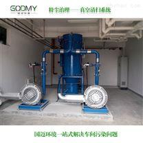 中央真空吸尘系统  工业真空除尘器国迈厂家
