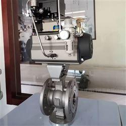 QV677F气动不锈钢V型球阀