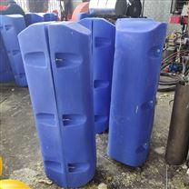 抗风浪塑料拦污浮排