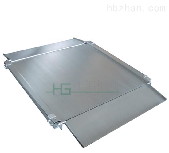 单层花纹板小地磅 钢卷缓冲平台小磅秤