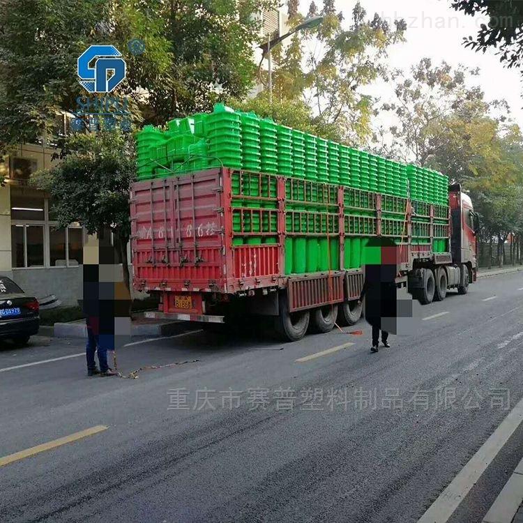 100升塑料环卫垃圾桶 分类果皮箱