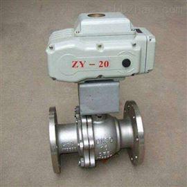 Q941TC電動不銹鋼陶瓷球閥