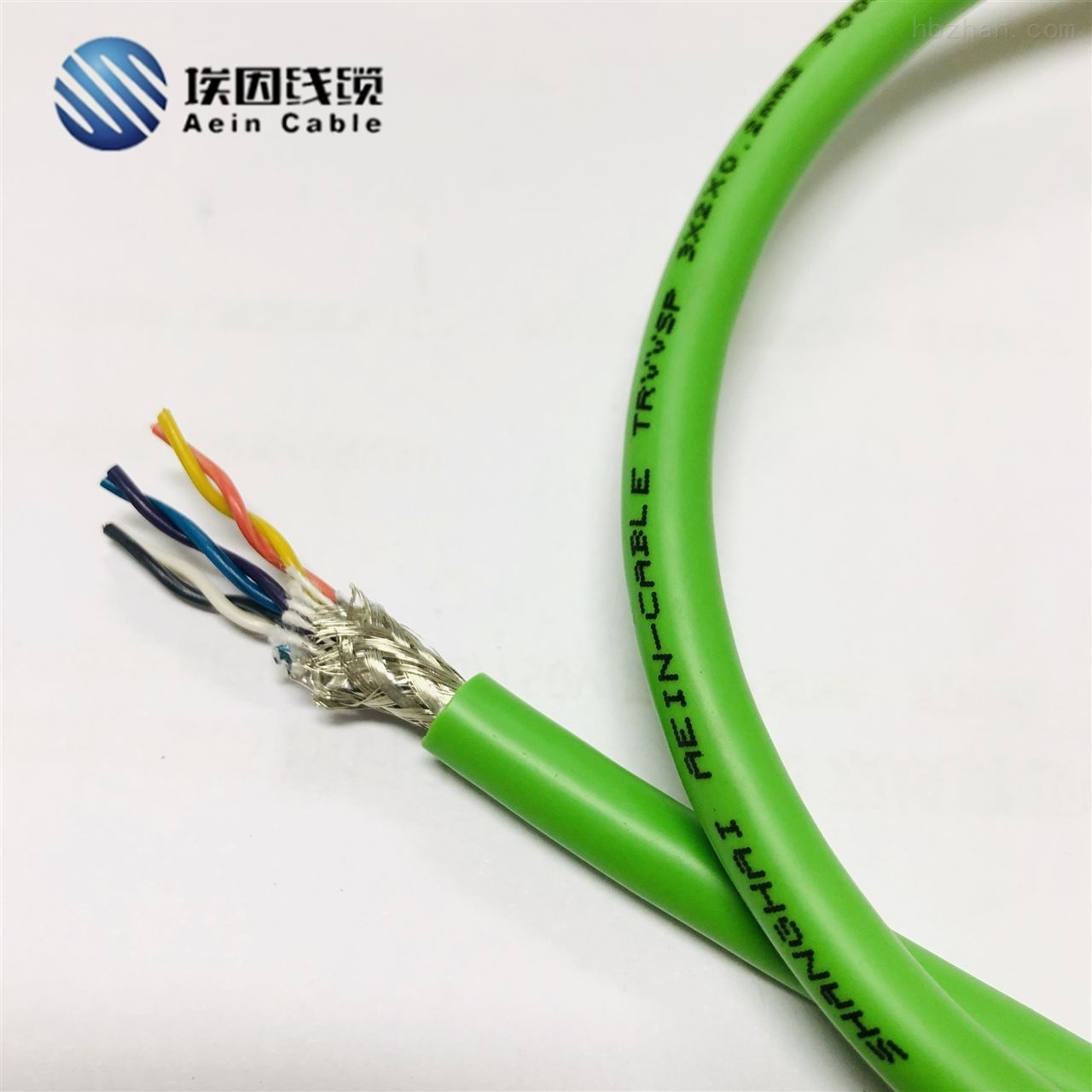 TRVVSP屏蔽抗干扰拖链电缆
