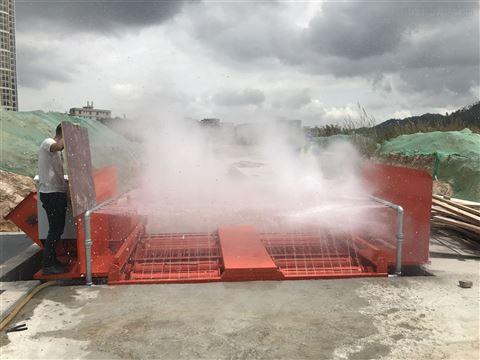 工地基坑式洗轮机