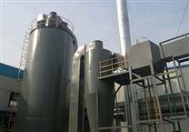 5千风量电捕焦油器(天津)安装现场图