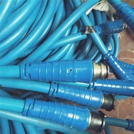 矿用七芯拉力电缆MHYBV-7-1*50带接头带插头