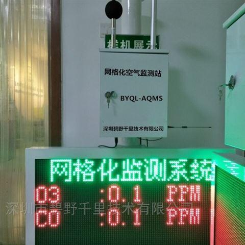 网格化空气质量监测系统精密布点