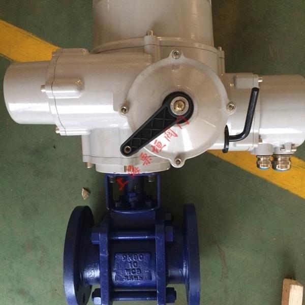 电动V型陶瓷球阀FBC-V-FLYGER-100-10NY