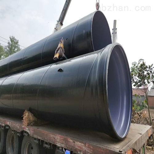 大口径涂塑复合螺旋钢管厂家