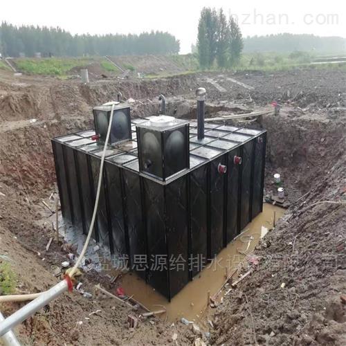 地埋式箱泵一体化泵站的主体结构