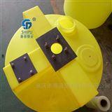 MC-500L昆明水处理加药箱厂家直销 PE桶可带搅拌机