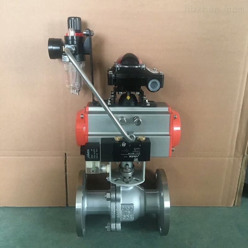 气缸式球阀Q6b41F-PN16