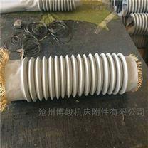 耐高温伸缩通风管生产