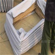 加厚帆布防尘伸缩软连接