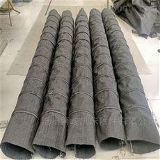 除尘耐腐蚀帆布伸缩布袋厂家直供