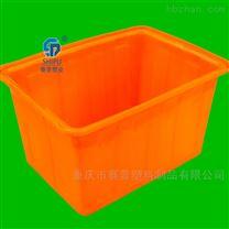 500升水产方箱 食品级PE养殖方盆