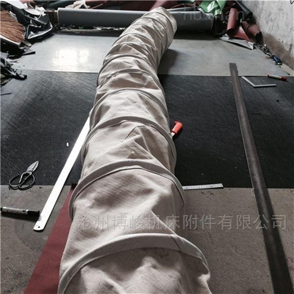 加厚耐磨帆布锅炉除尘伸缩布袋防漏