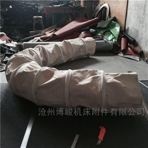 工业除尘设备帆布耐腐蚀伸缩布袋