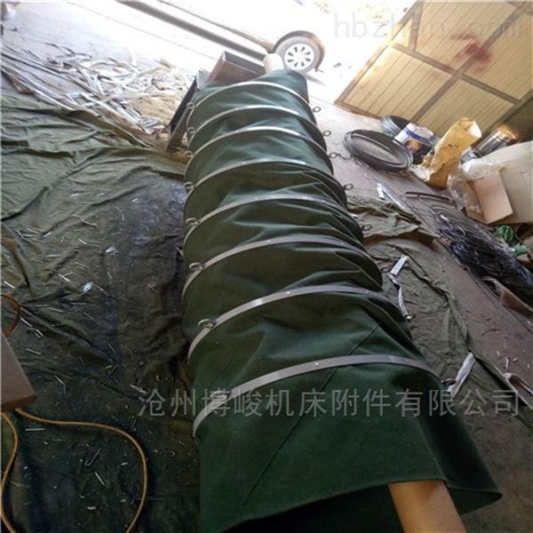 帆布锅炉耐高温除尘伸缩布袋供应商