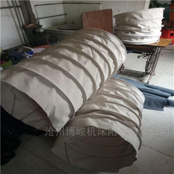 耐高温除尘帆布伸缩布袋厂家