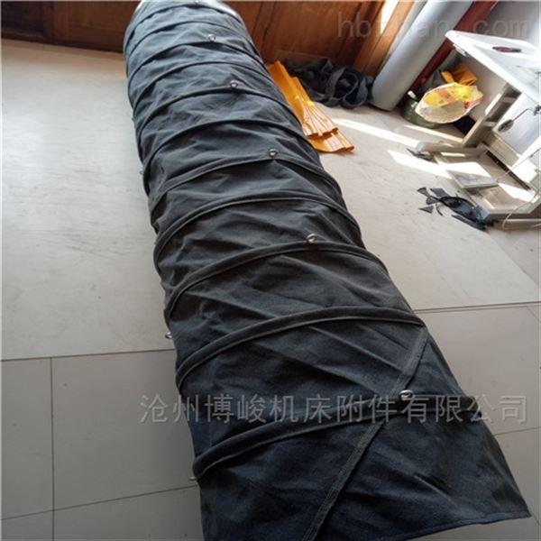 耐磨水泥冲料帆布伸缩布袋生产