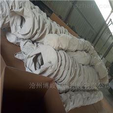 防漏帆布水泥除尘伸缩布袋厂家