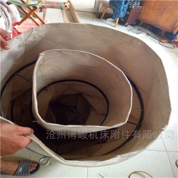 水泥厂专用帆布耐磨伸缩式布袋