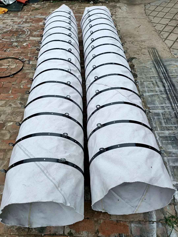 帆布伸缩式水泥输送布袋