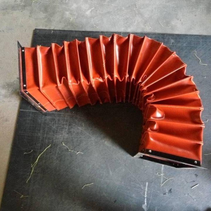 矩形风机伸缩式通风软连接