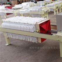 板框式污泥压滤机的工作原理