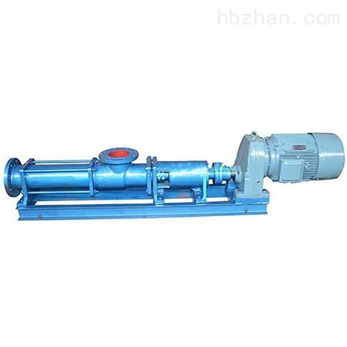 超高压单螺杆泵