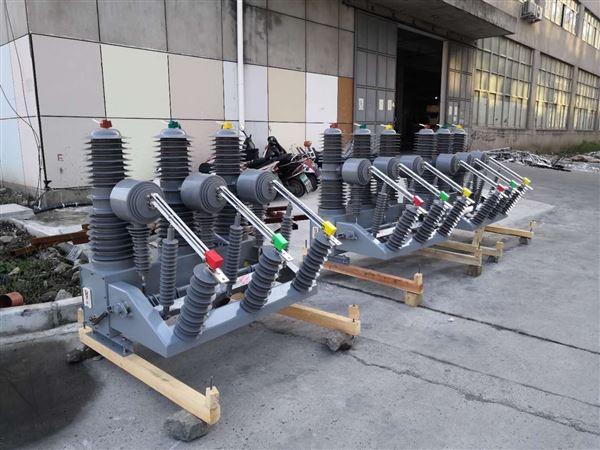 户外35KV电动机构高压真空断路器四川分公司