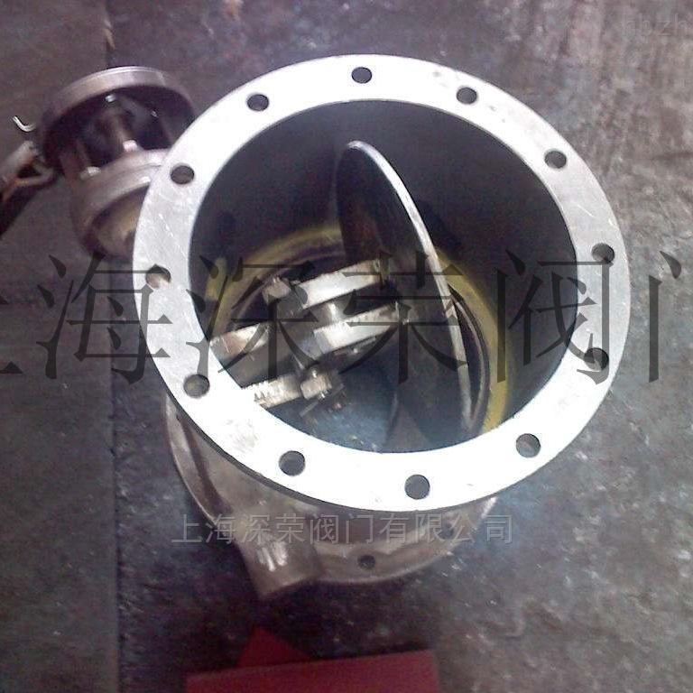 BD3(6,9)40HPPL电气动四连杆蝶阀