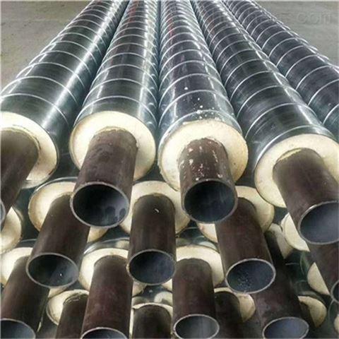 钢套钢预制无缝保温钢管